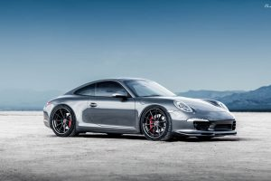Porsche 911 Carrera 4S with Brixton Forged WR3 Targa Series Wheels