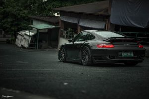 997 Porsche 911 Turbo with Brixton Forged CM16 Targa Series Wheels