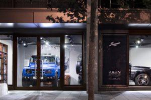 Kahn Showroom in Kensington