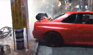 Skyline Drift Crash