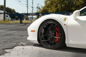 Ferrari 488 GTB Brixton Forged PF5 Ultrasport+ Wheels