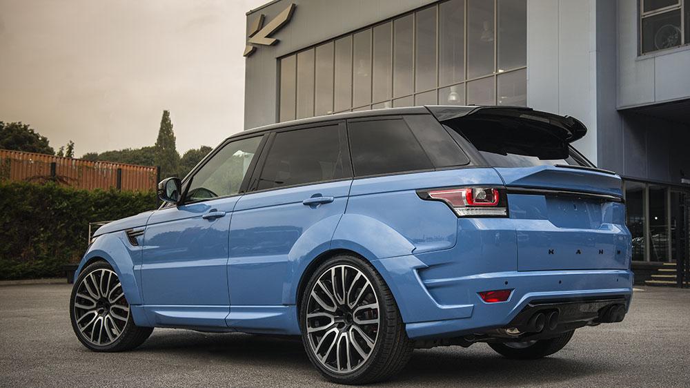Project Kahn Powder Blue Pearl Range Rover Sport Autobiography Dynamic Pace Car