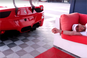 Ferrari Wake Up Call