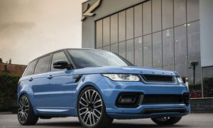 Project Kahn Powder Blue Pearl Range Rover Sport Autobiography 4.4 SDV8 Diesel Dynamic Pace Car