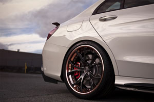 C63 S with PUR LX11 Wheels