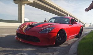 Friday FAIL Dodge Viper Crash